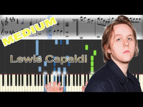 Lewis Capaldi - Someone You Loved | Sheet Music & Synthesia Piano Tutorial thumbnail