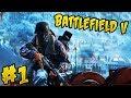 BATTLEFIELD V XBOX ONE - GAMEPLAY - JOGAMOS O OPEN BETA #01