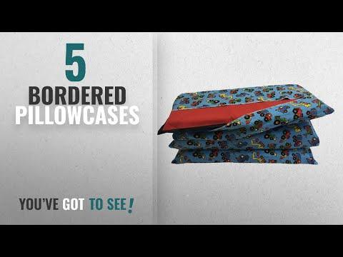 Top 10 Bordered Pillowcases [2018]: KinderMat Cover, Pillowcase Style Full Sheet For Rest Mats