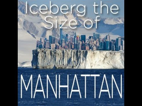 Iceberg 4.5 Times Manhattan's Size Breaks Off & We're Talking About DISTRACTIONS!!!