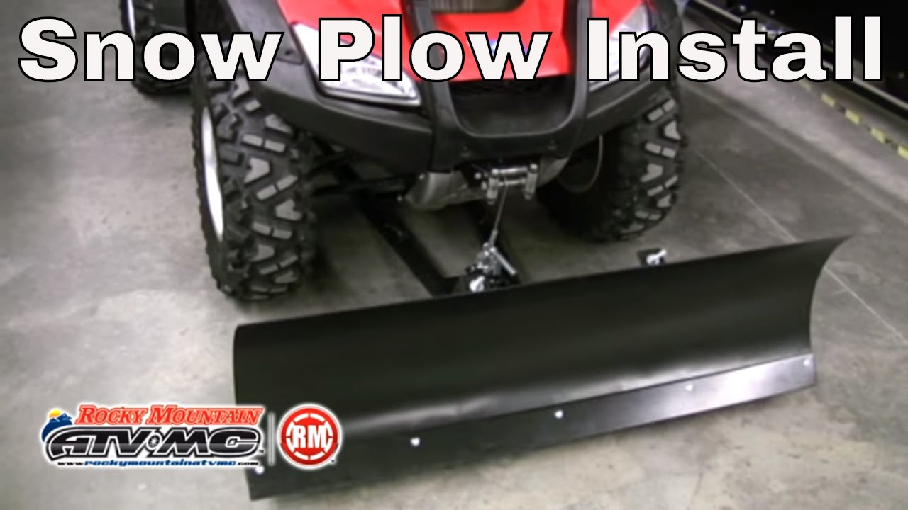 small resolution of tusk subzero snow plow kit winch equipped atv 50 blade parts accessories rocky mountain atv mc