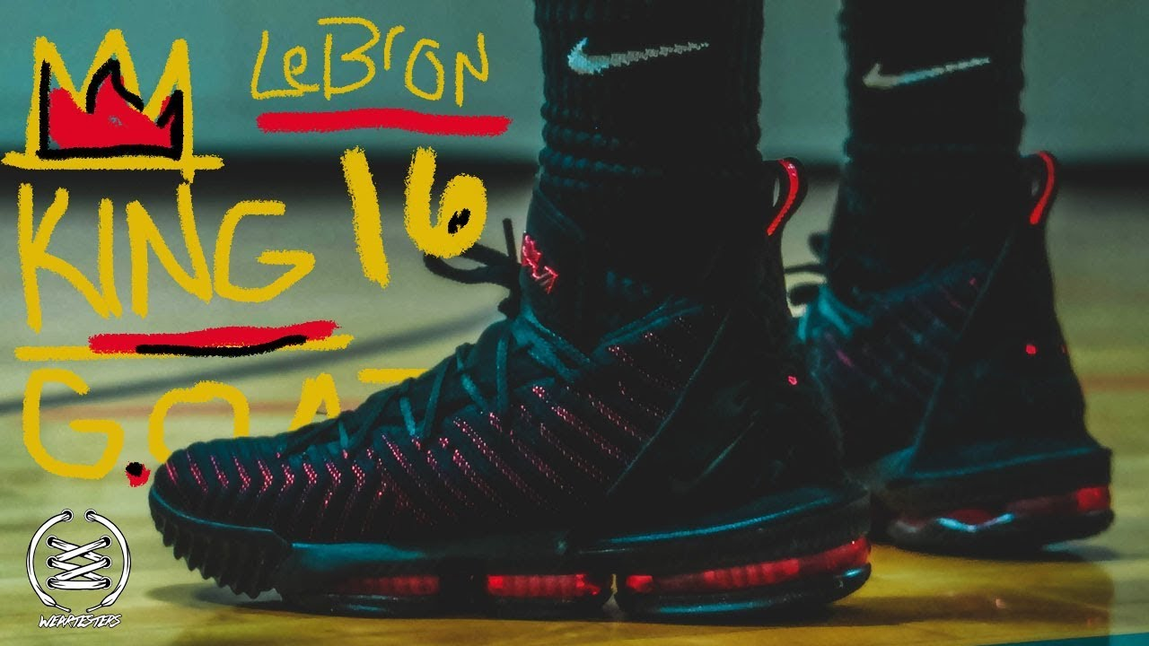 f94a52c9d0fe Nike LeBron 16 Performance Review - YouTube