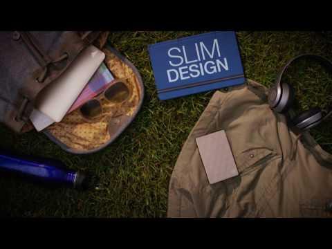 Backup Plus Ultra Slim - Storage for your brilliant side