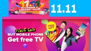Cheezmall 11 11 online shopping 100%off price is 0 11th nov 2018