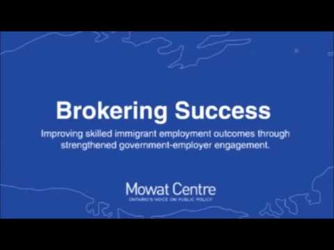 Hire Immigrants Webinar: Brokering Success – Improving Skilled Immigrant Employment Outcomes