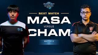MaSa vs Cham TvZ - Match 2 Finals - WCS Winter Americas