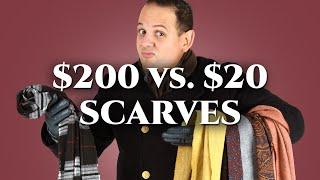 $20 vs. $200 Scarves - Style Hallmarks of a Quality Men's Scarf