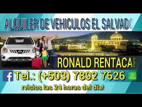 Alquiler De Vehiculos El Salvador 🚖 Ronald Rent A Car 🚘✈️