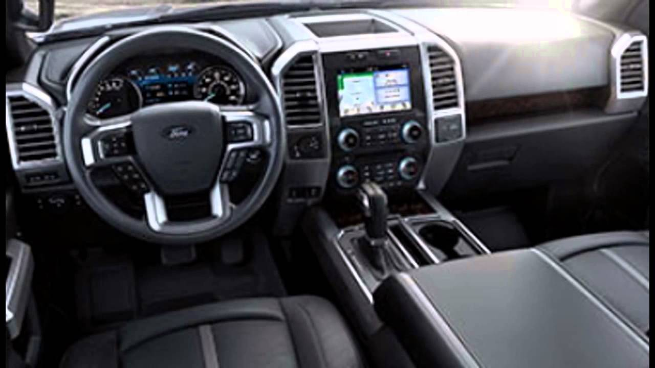 2016 ford f 150 interior youtube