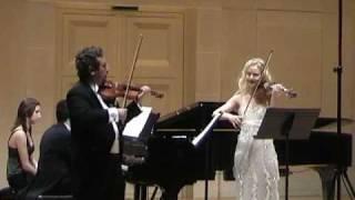 Sonate pour deux violons et piano de Darius Milhaud 1er Mouvement
