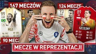 DRAFT WEDŁUG MECZÓW W REPREZENTACJI! | FIFA 19