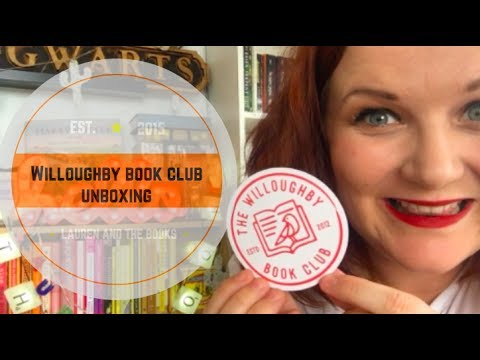 Willoughby Book Club Unboxing   Lauren and the Books