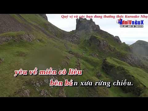 Karaoke Nhac Song Chieu Len Ban Thuong Song Ca