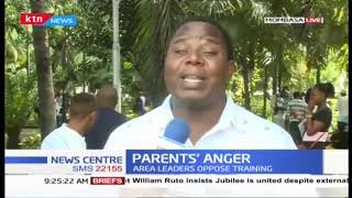 Parents hold protests over training that 3000 Youths had applied for in Mombasa