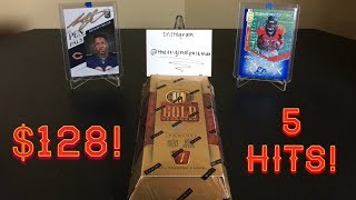 2018 Panini Gold Standard Football Hobby Box Break - $128! 5 Hits!