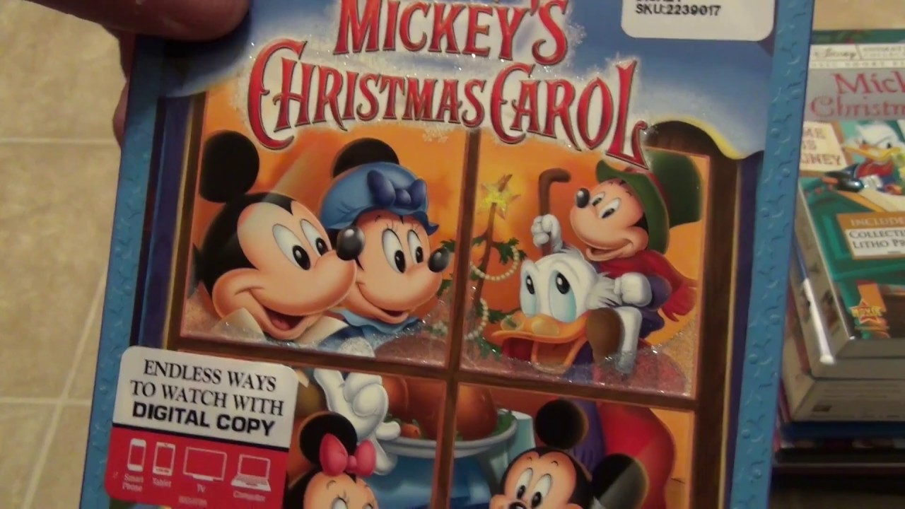 my collection of a christmas carol blu ray and dvds youtube - Mickeys Christmas Carol Blu Ray