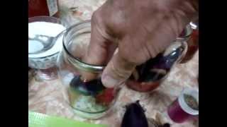 Рецепт заготовки баклажан на зиму