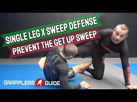Lachlan Giles - Single Leg X Sweep Defense Prevent The Get Up Sweep
