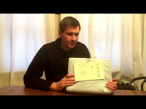 SOL Organics sheets unboxing