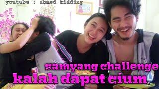 KALAH DAPAT CIUM SAMPE MUNTAH MUNTAH | Samyang Challenge 1