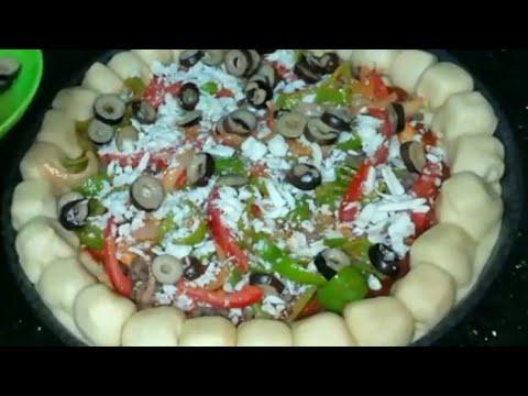 صورة  طريقة عمل البيتزا أسهل طريقة لعمل بيتزا احترافيه مثل الجاهزه طريقة عمل البيتزا من يوتيوب