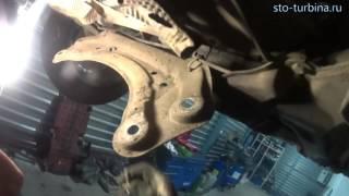 Ремонт турбины Вольво XC 90 (снятие турбокомпрессора)