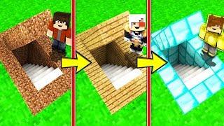 NOOB GİZLİ GEÇİT VS PRO GİZLİ GEÇİT! 😱 - Minecraft