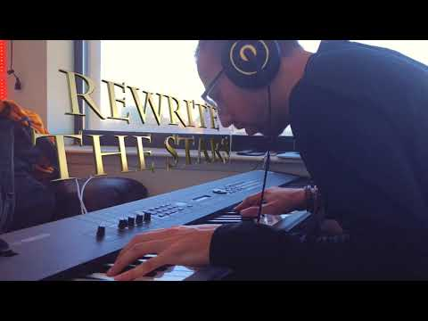 The Greatest Showman - Rewrite The Stars - Piano Cover