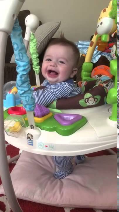7df18b899b4d Fisher-Price Go Wild Jumperoo   прыгун - YouTube