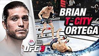 "EA Sports UFC 3 - BRIAN ""T-CiTY"" ORTEGA - LiVE COMMENTARY"