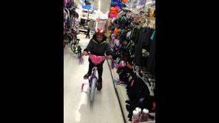drifting bike in walmart