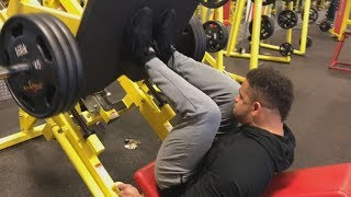 Leg Workout @hodgetwins......