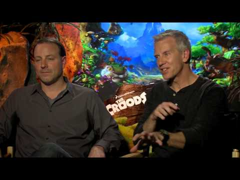Directors Chris Sanders and Kirk DeMicco Interview - The Croods