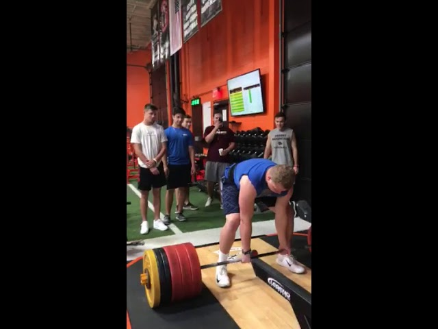SC Athlete Deadlift-550lbs.