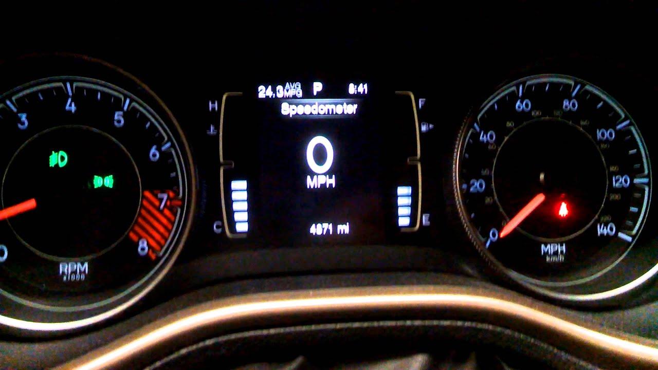 2014 Jeep Cherokee: Highest Average Dashboard MPG
