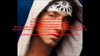 Eminem - Till I Collapse (Lyrics on the screen) HD