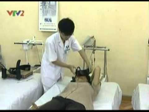 Máy kéo giãn cột sống cổ - VTV2 ngày 26/6/2011
