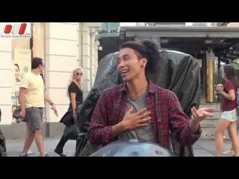 ★ Exclusive solo by Reo Matsumoto (Japan). HandPan - Hang. Live in Vienna by Russian Austria (FHD)