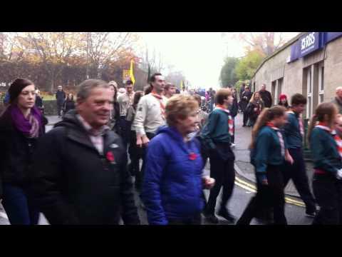 Dronfield Remembrance Parade 2011