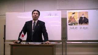 第3回黒田裕樹の歴史講座「源義経 ~悲劇のアイドル」の様子です(6/11...