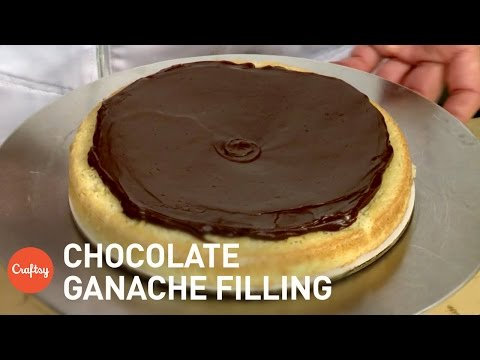 How to make chocolate ganache filling for cupcakes