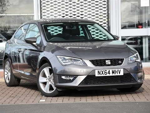 used seat leon 1 4 tsi act 150 fr 3dr technology pack grey 2014 youtube. Black Bedroom Furniture Sets. Home Design Ideas