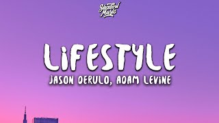 ... is a lyric video for 'lifestyle' by jason derulo & adam levine.you can stream - lifestyle ft.