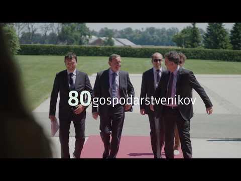 Srečanje predsednika vlade Cerarja z gospodarstveniki