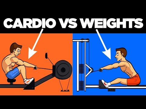 Cardio vs Weights (Best Way to Burn Fat)