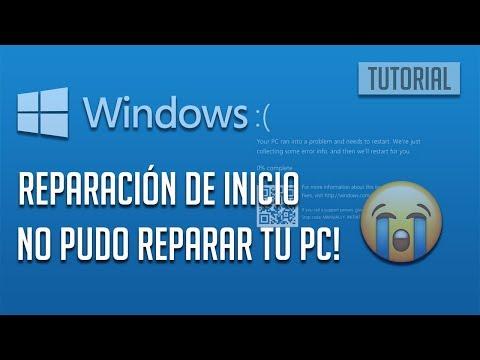 """""""Reparación de inicio no pudo reparar tu PC"""" En Windows 10 [6 Soluciones]"""