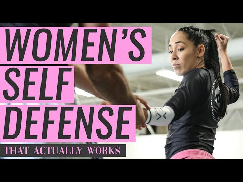 Women s Self-defense That Actually Works! (Gracie Jiu-Jitsu) from YouTube · Duration:  6 minutes 35 seconds