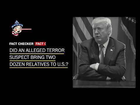Fact Check: Did an alleged terror suspect bring two dozen relatives to U.S.?