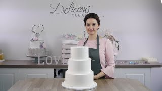 how to make naked cake