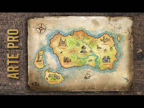 Como dibujar un mapa paso a paso youtube gumiabroncs Gallery